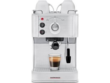 Siebträgermaschine Design Espresso Plus 42606, silber, Gastroback