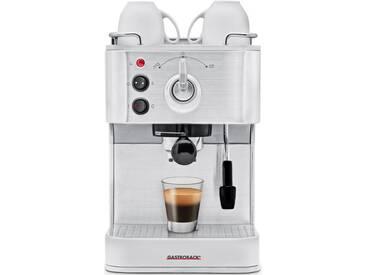 Siebträgermaschine Design Espresso Plus 42606 silber, Gastroback