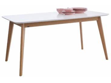 GMK Home & Living Esstisch », im modernen, skandinavischen Design, in verschiedenen Größen und Farben« weiß, eckig, 160/80/75, FSC®-zertifiziert, Guido Maria Kretschmer Home&Living