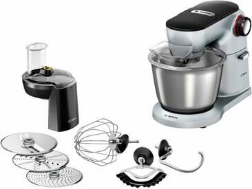 BOSCH Küchenmaschine OptiMUM MUM9D33S11, 1300 Watt, Schüssel 5,5 Liter silber