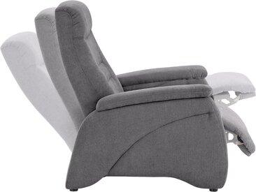 Relax-Sessel, grau, Sessel, inklusive Relaxfunktion, exxpo - sofa fashion