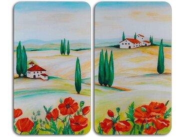 WENKO Herdabdeckplatte »Toscana«, bunt
