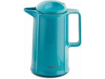 Isolierkanne , blau, Inhalt 0,6 l, »460«, ROTPUNKT