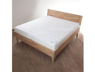 Matratzenauflage , weiß, pflegeleicht, »Unterbett Aloe Vera«, , , Jekatex