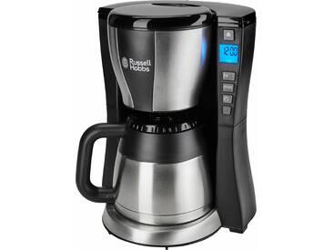 RUSSELL HOBBS Filterkaffeemaschine Fast Brew 23750-56 Solar Red, schwarz