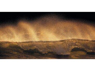 Komar Vlies Fototapete 200/100 cm »Golden Wave«, gold, B/H, FSC®-zertifiziert