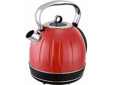 Wasserkocher TKGJK2500R, rot, Team Kalorik