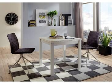 NIEHOFF SITZMÖBEL Esstisch mit Auszugsfunktion , weiß, eckig, 90/60/76cm, »Minimax«, pflegeleichte Oberfläche