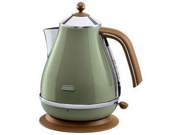 Wasserkocher KBOV2001.GR, grün, DeLonghi