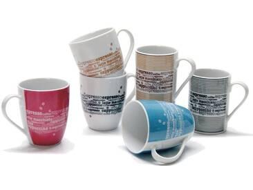 Becher Kaffee , bunt, spülmaschinengeeignet, Retsch Arzberg