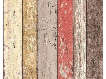 Bordüre , beige, 0,52x2,5 m, »pop.up Panel 3D 95569«, FSC®-zertifiziert, living walls