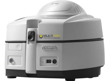 Heissluftfritteuse MultiFry YOUNG FH1130/1; Heißluftfritteuse und Multicooker in einem, weiß, herausnehmbar, , , DeLonghi