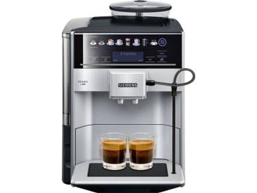 SIEMENS Kaffeevollautomat EQ.6 plus s300 TE653501DE, silber