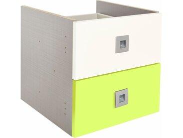 Schubkasteneinsatz »Sunny«, grün, 33,4x34x34cm, mit Schubkästen, Wimex