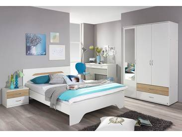PACK´S Jugendzimmer-Set beige, »Noosa«, mit Schubkästen, rauch