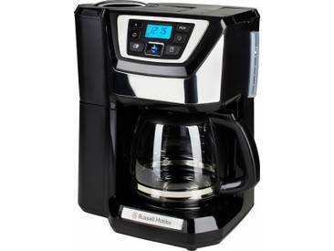 RUSSELL HOBBS Kaffeemaschine mit Mahlwerk Chester 22000-56, 1,5l Kaffeekanne schwarz