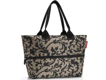 Shopper baroque taupe, beige, »shopper e1«, REISENTHEL®