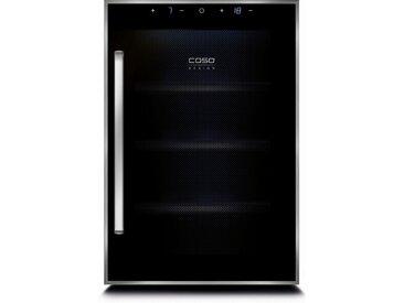 Getränkekühlschrank WineDuett Touch 12, 52,5 cm hoch, 34,5 cm breit, Energieeffizienz: B, schwarz, Energieeffizienzklasse: B, Caso