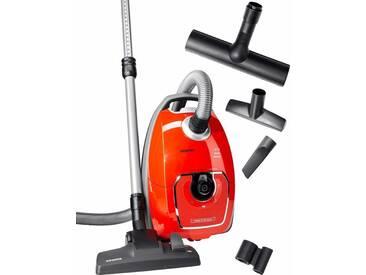 SIEMENS Bodenstaubsauger Z 7.0 family VSZ7330, orange, Allergiker, , , Energieeffizienzklasse: A