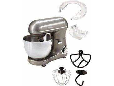 Küchenmaschine 439232 mit praktischem Zubehör, grau, Hanseatic