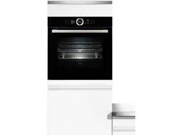 BOSCH Dampfbackofen Serie 8 HSG636BS1, schwarz, Energieeffizienzklasse: A+