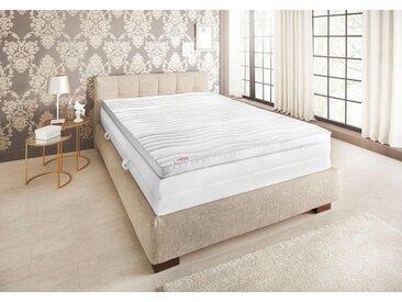 Matratzen-Auflage »Schlaf-Gut Luxus TKS«, beige, Schlaf-Gut