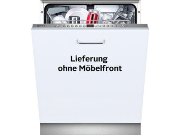 NEFF vollintegrierbarer Geschirrspüler, GV4600I / S513I60X0E, 9,5 l, 13 Maßgedecke, Energieeffizienz: A++, edelstahlfarben, Energieeffizienzklasse: A++