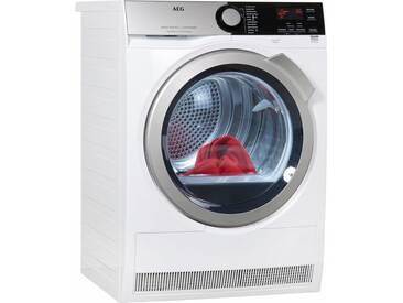 Wärmepumpentrockner LAVATHERM T8DE76585, weiß, Energieeffizienzklasse: A++, AEG