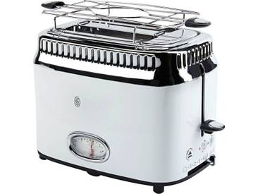 RUSSELL HOBBS Toaster Retro Classic Blanc 21683-56, weiß