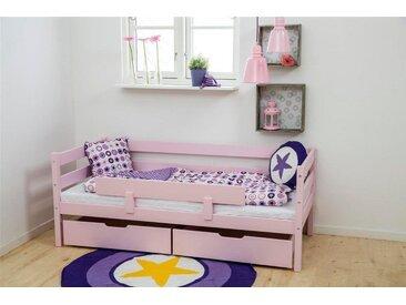Hoppekids Einzelbett  »IDA-MARIE«, rosa, 70x160cm Höhe Bettseite: 65cm, FSC-Zertifikat, , , Härtegrad 3, FSC®-zertifiziert