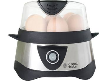 RUSSELL HOBBS Eierkocher Cook at Home Stylo 14048-56, silber