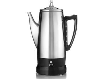 C3 Kaffeebereiter Perkolator Basic silber