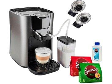 Kaffeepadmaschine HD6574/50 Latte Duo, silber, Senseo
