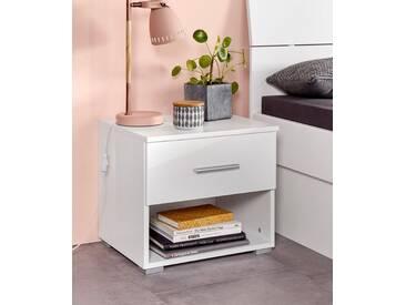 PACK´S Möbelwerke Stauraumbett »Flexx«, weiß, rauch