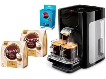 Philips Kaffeepadmaschine HD7865/60 Quadrante schwarz, Senseo