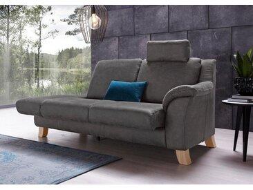 Chaiselongue , grau, mit Funktion, 208cm, Recamiere rechts, »Kama«, Places of Style