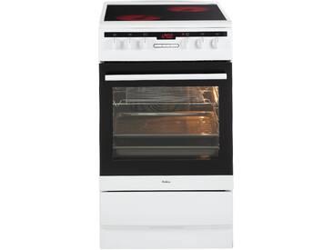 Standherd 50 cm SHC 11578 W weiß, Energieeffizienzklasse: A, Amica