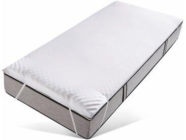 Matratzen-Auflage , , 2,5 cm hoch, Raumgewicht: 50, Viscoschaum, weiß, »Microaktiv 2,5«, Jekatex