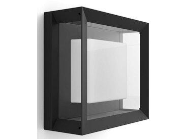 LED Außen-Wandleuchte , schwarz, H:26,0 cm, 1 -flg. /, »Econic«, Philips Hue