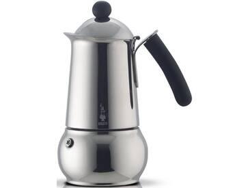 BIALETTI Espressomaschine Class, silber, Für 4 Tassen, induktionsfähig