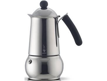 BIALETTI Espressokocher silber, Für 4 Tassen, induktionsfähig, »CLASS«