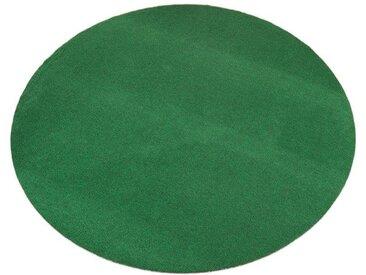 Outdoorteppich , grün, rund, Ø 133cm, pflegeleicht, »Kunstrasen«, , , strapazierfähig