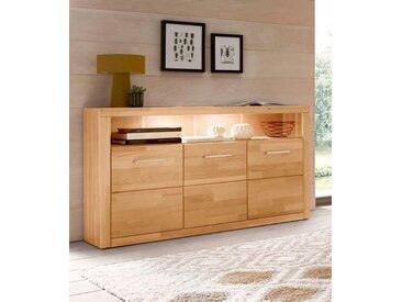 Sideboard, beige, FSC®-zertifiziert, SERIE RIBE