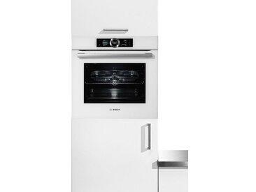 BOSCH Dampfbackofen Serie 8 HSG636BS1, weiß, Energieeffizienzklasse: A+