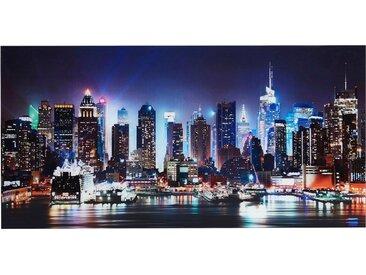 Glas-Bild , schwarz, 100x50cm, »New York City-Times Square«, Places of Style