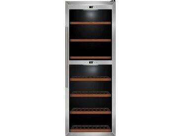Weinkühlschrank WineComfort 126, silber, Energieeffizienzklasse: B, Caso