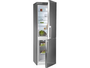 BAUKNECHT Kühl-/Gefrierkombination, 189 cm hoch, 59,5 cm breit, Energieeffizienz: A+++ silber, Energieeffizienzklasse: A+++