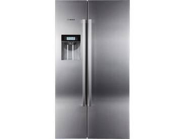 Kühlschrank In Schwarz : Side by side kühlschrank schwarz glasfront siemens ka nlb side