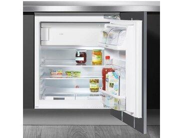BAUKNECHT Einbaukühlschrank UVI 1884, 81,5 cm hoch, 59,6 cm breit, Energieeffizienz: A++, weiß, Energieeffizienzklasse: A++