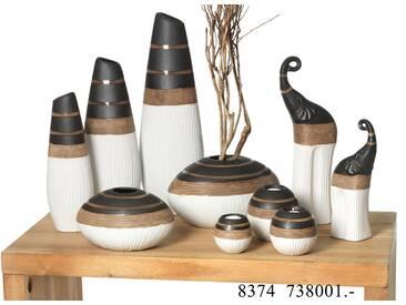 Vase 13cm bauchig - Vasen und Leuchter Maranello